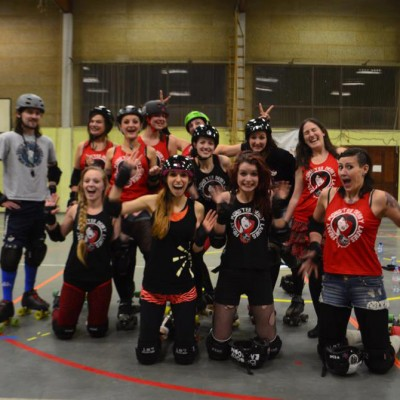 Coaching with the Tiger Bay Brawlers: waow! - Freaky Mons'ter Derby Ladies | Roller derby Mons
