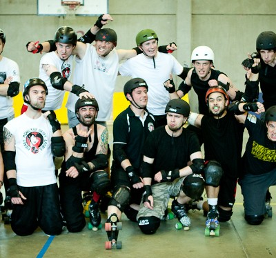 Mons'ter Munch Derby Dudes - Freaky Mons'ter Derby Ladies | Roller derby Mons