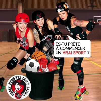 On recrute! - Freaky Mons'ter Derby Ladies | Roller derby Mons