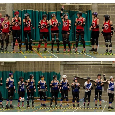 Happy Birthday Namur - Freaky Mons'ter Derby Ladies | Roller derby Mons