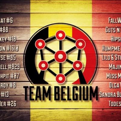 Les belges de la coupe du Monde - Freaky Mons'ter Derby Ladies | Roller derby Mons