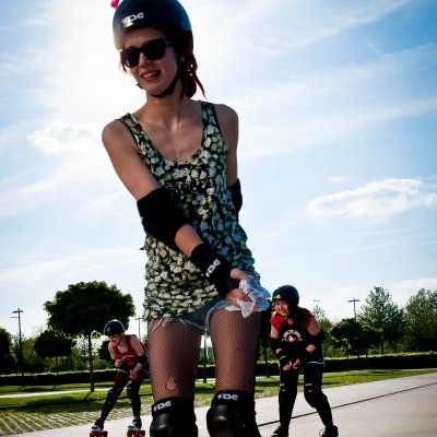 Semaine de la mobilité: testez le roller! - Freaky Mons'ter Derby Ladies | Roller derby Mons