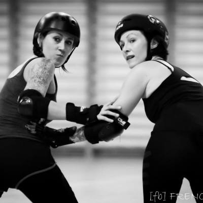 2 filles, leur vie et le roller derby! - Freaky Mons'ter Derby Ladies | Roller derby Mons
