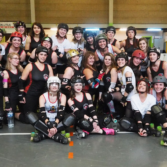 Double Scrimmage! Liège! - Freaky Mons'ter Derby Ladies | Roller derby Mons