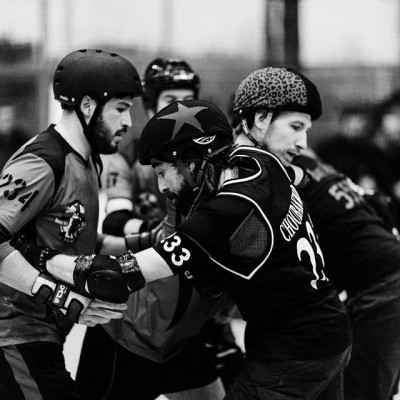 Les Barbiers de Sévices VS The Mons'ter Munch Derby Dudes - Freaky Mons'ter Derby Ladies | Roller derby Mons