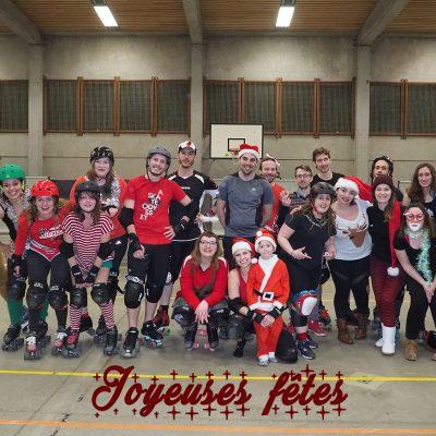 Joyeuses fêtes - Freaky Mons'ter Derby Ladies | Roller derby Mons