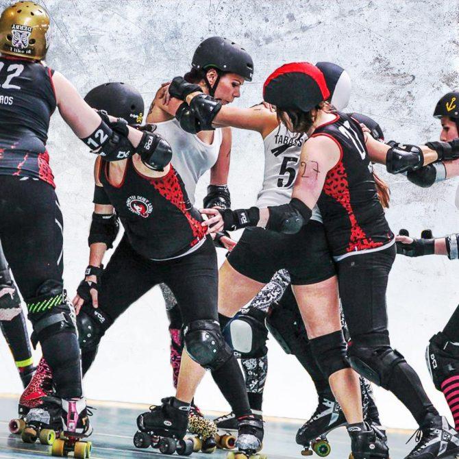 Tentez le roller derby (hommes ou femmes) - Freaky Mons'ter Derby Ladies | Roller derby Mons