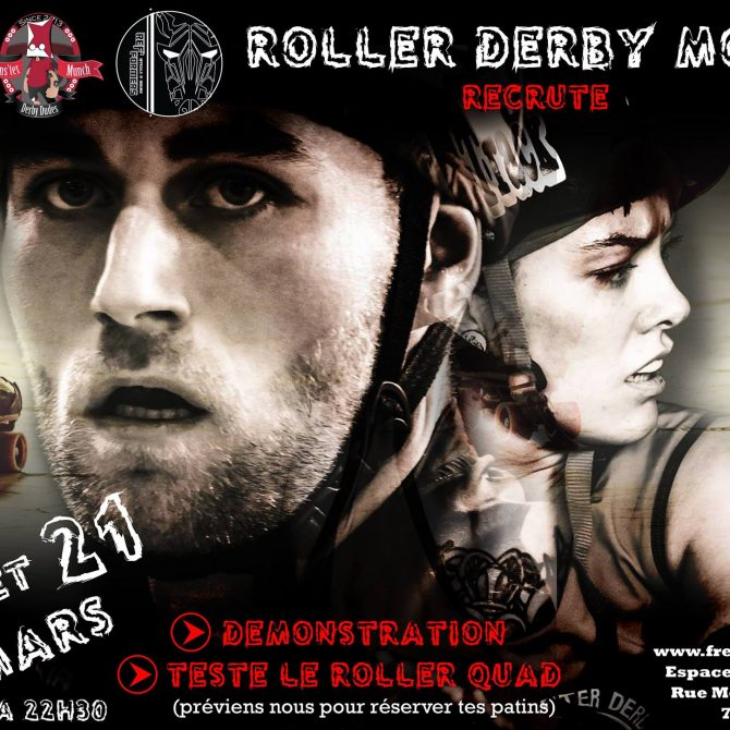 On recrute! Tentez le roller derby (femmes & hommes)! - Freaky Mons'ter Derby Ladies | Roller derby Mons